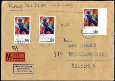 BUND 1970-1990 schöne MASSENMEHRFACHFRANKATUREN (83489c