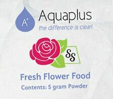 Aqua Plus Flower Food 5gm. Pack (Free Shipping) (Choose Quantity Pack)