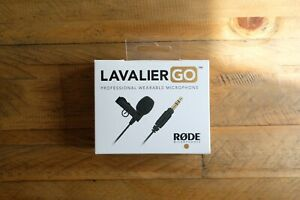 Rode Lavalier GO Professional-grade Wearable Microphone - New