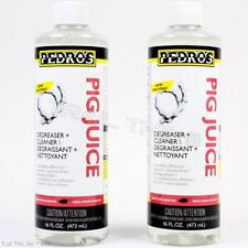 2 Pack Pedro's Pig Juice Degreaser 16oz Chain Cleaner Road MTB Bike for Chainpig