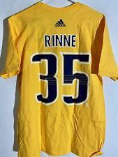 adidas  NHL T-Shirt Nashville Predators Pekka Rinne Gold sz XL