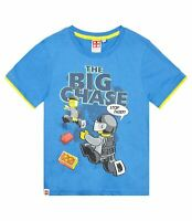 Lego City Boys Short Sleeve T Shirt