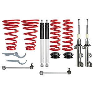 1 RS Premium Gewindefahrwerk Gasdruck für Mercedes Benz C Klasse CLK W203 209