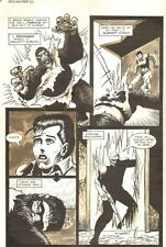 Planet of the Apes #16 p 6 - You Saved my Life - 1991 art by M.C. Wyman