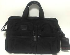 Tumi Ballistic Nylon Alpha Expandable Organizer Laptop Bag Briefcase and Strap