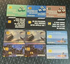FRANCE Phonecards 12 x 50/120 Units - Assorted Cards