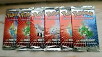 Pokemon Booster Packs VINTAGE SEALED x6 EX Ruby Sapphire Spanish CASE FRESH
