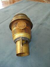 Aladdin NU-TYPE Model B Brass Burner, Nashville, Tenn, No Wick