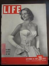 Life Magazine How To Make Two Outfits Out of One September 1949
