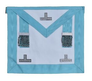 Masonic Regalia Craft Worshipful Mason WM Apron Past Master Lambskin Leather