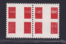 Vignettes expérimentales CS2 Croix de Savoie en paire, cote: 36 €
