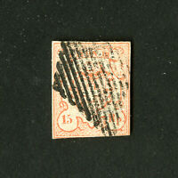 Switzerland Stamps # 11 F-VF Used Rare Catalog Value $700.00