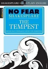 The Tempest (No Fear Shakespeare), SparkNotes Editors, Good Condition, Book