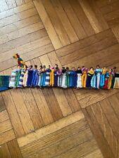 Vintage 90's Handmade Worry Doll Belt