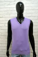 Maglione Maglia Pullover Cardigan Uomo WILLIAM Taglia Size L Sweater Man Slim