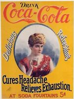 Coca Cola, Pepsi, Vintage Soft Drink Ads reprint 8.50 x 11 inches photo 100