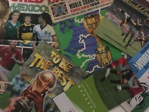 World Cup Finals Memorabilia-Programmes/Magazines/Tickets etc *Choose from list*