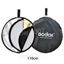 "Godox 43"" 110cm Photography Light  5 in 1 Mulit Collapsible Disc Reflector"