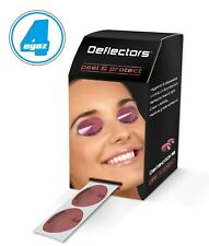 Deflectors Disposable UV Sunbed Tanning Eye Protection Goggles Rolls or Packs