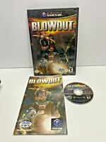 BLOWOUT NINTENDO GAMECUBE  Complete  CIB TEEN TESTED