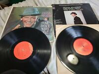 Frank Sinatra Lot 2 Record LP's Greatest hits the Early years come dance with me