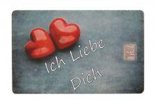 Geschenkkarte Motivkarte Silberbarren 999er Silber 1g Gramm I Love You Liebe