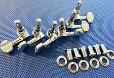 6 Gibson USA m2 un sintonizzatore tuning pegs Guitar Parts Chrome 3x3