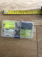 Job Lot Of Perch Chub Pike Zander Lures Soft Jelly Lures Wire Trace Quick Links