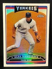 ALEX RODRIGUEZ 2006 Topps Chrome REFRACTOR Parallel Card #1  New York Yankees