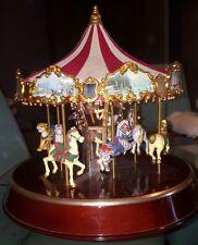 Mr Christmas Holiday Around The Carousel