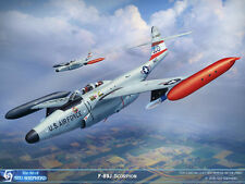ART PRINT: F-89J Scorpion of Iowa ANG - Print by Shepherd