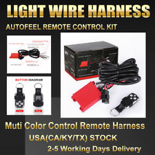 Autofeel Wire Harness With Wireless Remote ON/OFF For Led Light Bar 40A 12V 24V