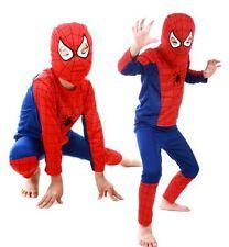 Super Hero Children Theme Party Costume Spiderman Batman Superman Clothing 1pc