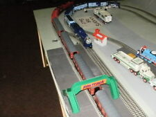Lionel Chief 0 gauge 3 rail layout. Thomas, Harry Potter, Frosty the snowman.