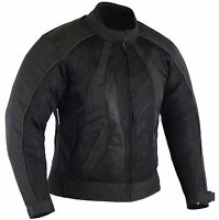 BUSA Ladies Chicane Motorcycle Summer Mesh Jacket Remove Armour Waterproof Liner