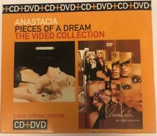 CD Music Anastacia Greatest Hits Pieces Of A Dream 2 disc DVD Video