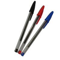 originale Bic Cristal a sfera Penna 50 Pz rosso o blu o nero bl