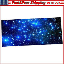 Galaxy Extended PC Gaming Mouse Pad Large Size Desk Keyboard Non-slip Rubber Mat