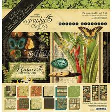 Graphic 45 Deluxe Collector's Edition Papercrafting Set Nature Notebook 12 X 12