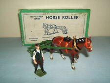 VINTAGE BRITAINS MODEL No.9F       HORSE DRAWN ROLLER & MAN      MIB