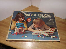Vintage BRIX BLOX Bricks , Blocks, Gears and Other Construction Stuff Japan