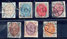 Dinamarca temprano Colección usado Gato Val £ 150+ WS11503