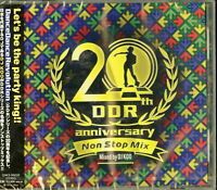 OST-DANCEDANCEREVOLUTION 20TH ANNIVERSARY NON STOP MIX MIXED BY...-JAPAN CD G35