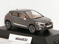 DS 4 (Citroën) 2015 Platinium Grey Black Roof NOREV 1/43 Ref 155456