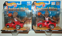 NBA HOTWHEEL RADICAL RIDE LOT MICHAEL JORDAN CHICAGO Bulls LAST DANCE Set X2 NEW