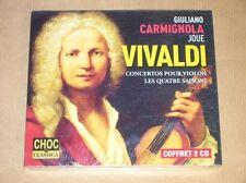 BOITIER 2 CD / GULIANO CARMIGNOLA JOUE VIVALDI / NEUF SOUS CELLO
