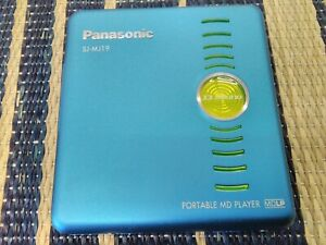 PANASONIC Portable MD player SJ-MJ19 001140 F/S  from JP Very Good USED