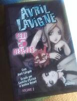 Avril Lavigne Ask 5 wishes comic book Issue 2 portugal edition