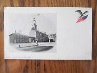 Vintage Postcard Independence Hall Philadelphia Pennsylvania