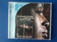 HOLLAND. DOZIER.           LOVE AND BEAUTY.        TWO COMPACT DISCS